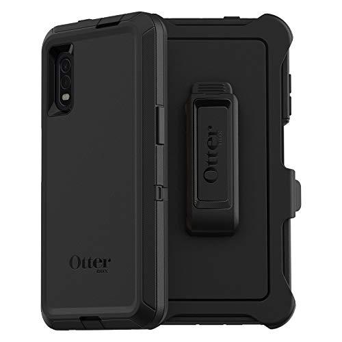 OtterBox Defender - ultrarobuste Schutzhülle mit 3 Lagen Schutz geeignet für Samsung Galaxy Xcover Pro, schwarz (ohne Einzelhandelsverpackung)