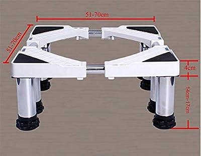 Washing Machine Adjustable Trolley Washing Machine Fridge Base Universal Appliance Base Liftable Washing Machine Floor Trays