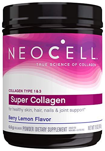 Polvo de colágeno NeoCell, Berry Lemon, Large