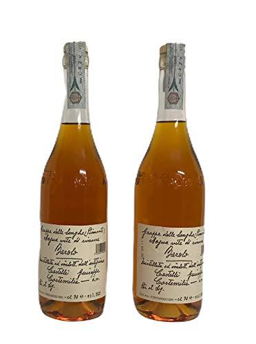 Grappa di barolo 2x70cl. Distilleria castelli Grappa di Barolo, destilliert aus reinem Trester von Nebbiolo aus Barolo 100% aus dem Piemont