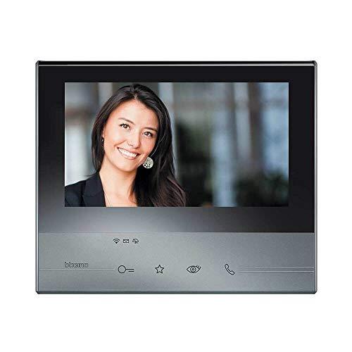 Legrand Videoportero Clase 300 344642 - Monitor adicional o sustitución, WiFi, Mano libres (sin cables), Pantalla Táctil, 7 pulgadas, Color Blanco