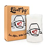 Love Mop Premium Cotton Sex Towel - Sexy Naughty Gift Bachelorette Wedding Bridal Shower Party Couples Second 2nd Anniversary for Man Her Him Wife Husband Adult Boyfriend Girlfriend Sexual Valentines