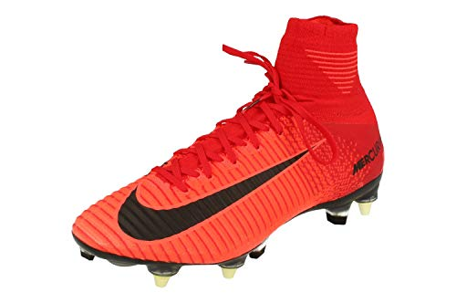 Nike Mercurial Superfly V SGPRO AC Herren Football Boots 889286 Soccer Cleats (UK 6.5 US 7.5 EU 40.5, University red Black 616)