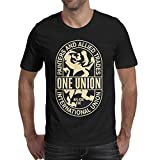 WJINX International-Union-of-Painters-and-Allied-Trades Mens Cool T Shirt 100% Cotton Tee
