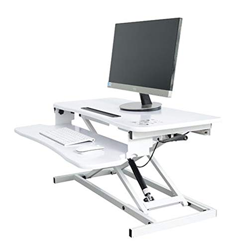 SMFYY Computer Desks Gaming Desk Gamer Workstation PC Computer Tabel Notebook Monitor Computer Desktop Verhoogde Stand-Up Bureau Mobiele Werktafel