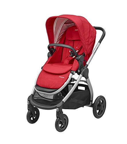 Maxi-Cosi Adorra – Kinderwagen mit 4 Rädern, schwarzer Rahmen
