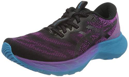 Asics Gel-Nimbus Lite 2, Road Running Shoe Mujer, Digital Grape/Black, 39 EU