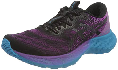 ASICS Women's Gel-Nimbus Lite 2 Road Running Shoe, Digital Grape Black, 8.5 UK