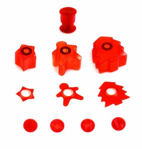 mastrad F37370 Deco Cutter Kit Découpe et Décoration ABS/INOX/Aimant 9 x 9 x 5 cm