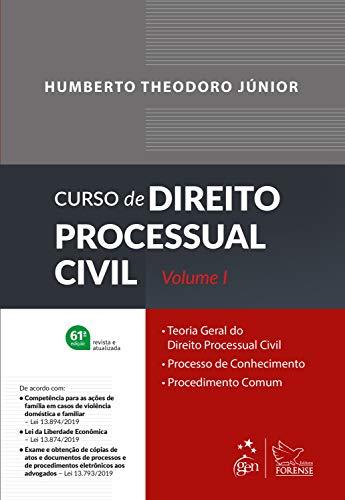 Curso de Direito Processual Civil - Vol. 1: Volume 1