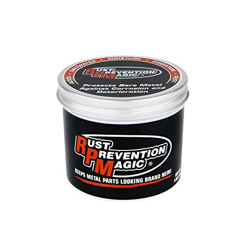 Rust Prevention Magic (RPM) – Award Winning & Lab Certified – Stop Rust Before It Can Start! – Corrosion Inhibitor – Best Resistance Against Acids, Moisture & More! – Made in USA – 4 oz