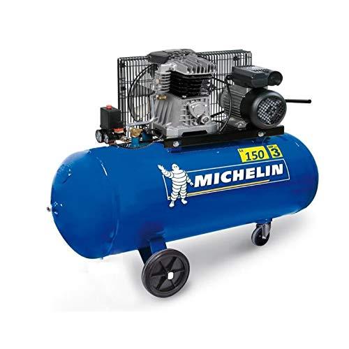 Michelin compresseur a Courroie 150l - 3 CV - 10 Bars - 2850tr/min