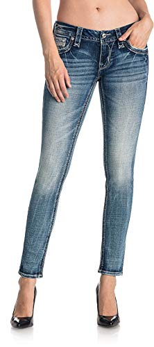 Rock Revival Womens Betty S299 Skinny Jeans, 32, S299