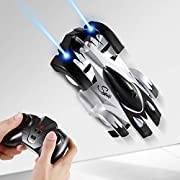 SGILE Remote Control Car Toy for 6 -10 Years Old Kids - Dual Mode 360° Rotation Stunt Racing Car, Xmas Gift for Boys Girls (Black)