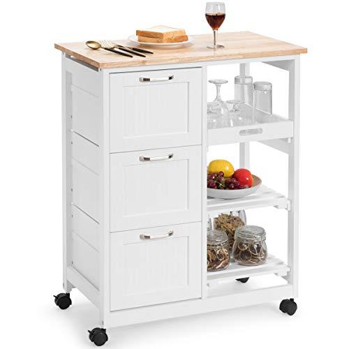COSTWAY -   Küchenwagen mit