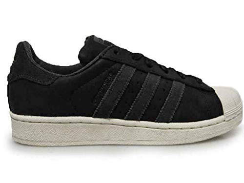 adidas Original Mens Superstar Waxy Black Trainers Sneakers CM8092 (8.5 UK)