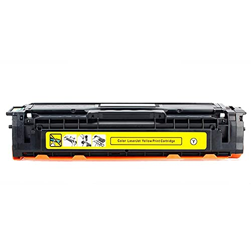SKSNB para Cartucho de tóner Compatible HP 131A CF210A CF211A CF212A CF213A, Alto Rendimiento para Usar con HP Laserjet Pro 200 Color M251nw M276n M276nw con Chip.-Amarillo