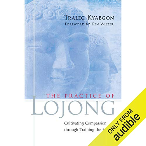 Practice of Lojong audiobook cover art