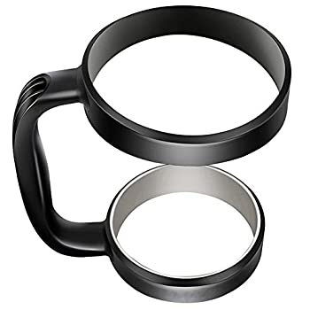 Handle for 30 oz Tumblers - Portable Anti-Slip Handle Versatile Available for YETI RTIC OZARK TRAIL SIC CUP Rambler & More Tumbler Travel Mug