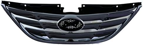 Koolzap For Front Grill 2020モデル 市場 Grille Chrome-Shell HY1200154 Assembly 8