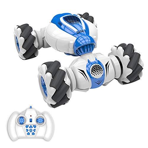 QQDS Control Remoto Coche 2.4GHz 1:16 RC Stunt Toy DE Coches para NIÑOS, Coche De Juguete De 360 ° Drifting, Coche para Niños, Distrito De Niños Juguete para Niños 4-7 8-12