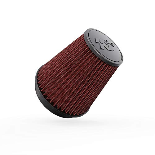 K&N Universal Clamp-On Air Filter: High Performance, Premium, Washable, Replacement Engine Filter: Flange Diameter: 6 In, Filter Height: 7.5 In, Flange Length: 1 In, Shape: Round Tapered, RF-1041