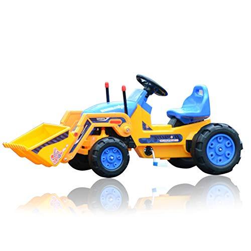 Bagger Fahren Fuer Spielzeug, Elektrisches baufahrzeuge Spielzeug Set mit Kinder Bulldozer Straßenwalze...