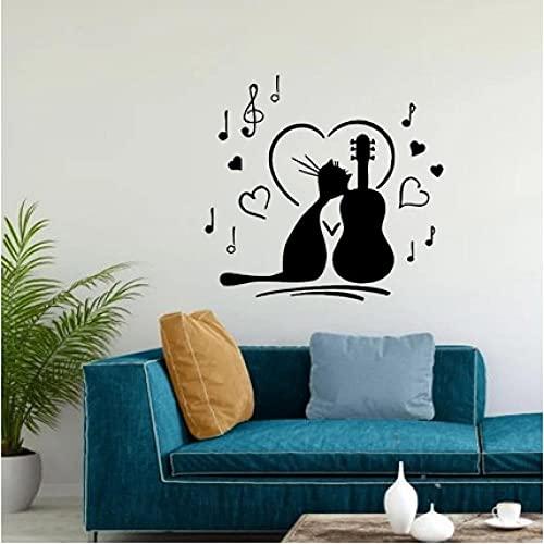 Pegatina Vinilo Musica  marca xiaopang
