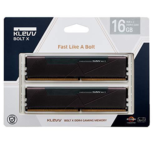 KLEVV PC4-25600 DDR4 3200 8GBx2枚 永久保証 KD48GU880-32A160U