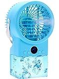 Nifogo Refroidisseur d'air Silencieux Mobile Air Conditioner Portable Air Cooler Peuvent Rapidement Refroidir l'espace Personnel, Convient aux Climatiseur Les Maisons et Les Bureaux (lac Bleu)