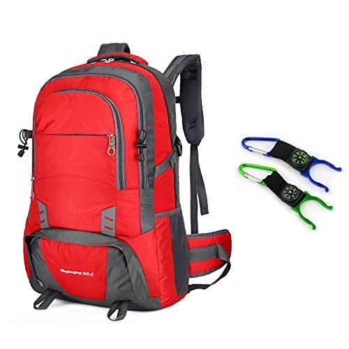 ZXZS Outdoor Mountaineering Bag Breathable And Wear-resistant Backpack Suitable For Outdoor Travel And Mountaineering