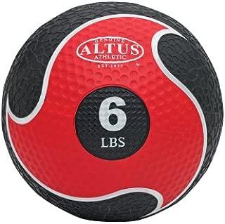 Altus Athletic AMB-6 Medicine Ball w/Removable Handles 6lb