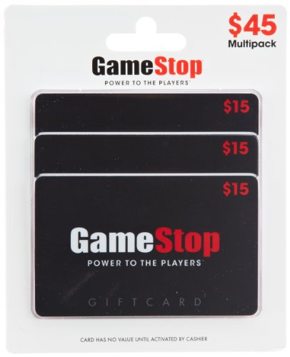 GameStop Gift Cards, Multipack of 3 - $15