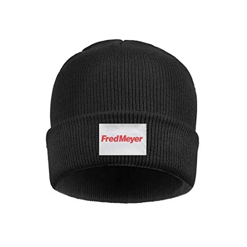aknhdhdg Headwear for Mens Womens Lightweight Fred-Meyer-Logo- Solid Color Beanies