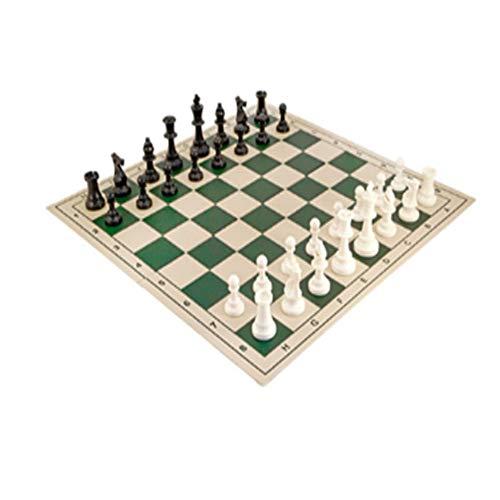 Juego de ajedrez de Torneo, carcaj de ajedrez, Juegos de Viaje, Hechos a Mano con una intención Interesante portátil, para la Oficina en casa al Aire Libre para Adultos