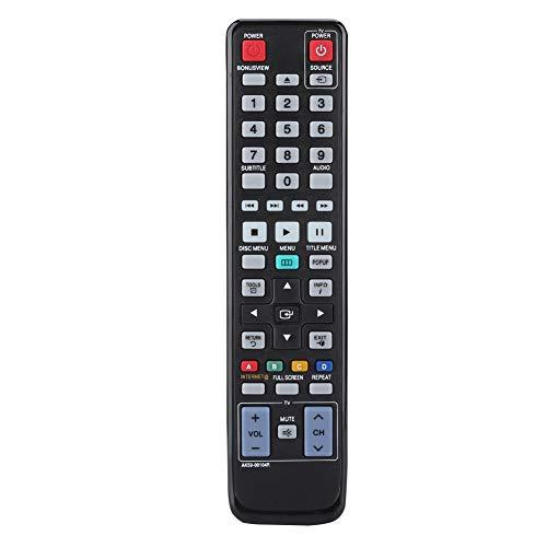 ASHATA dvd-afstandsbediening, multifunctionele dvd-speler vervangende afstandsbediening voor Samsung AK59-00104R, videospeler afstandsbediening met grote knoppen, lange transmissieafstand.