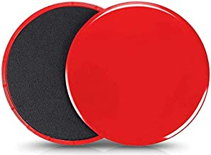 VIQILANY Set of 2 Core Exercise Sliders Dual Sided Gliding Discs-Trainer Fitness Equipment for Abdominal, Total Body Worko...