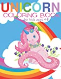 Unicorn Coloring Book for Girls 4-8: Whimsical Unicorn 50 Coloring Pages; Gift for Kids and Girls; 100 Total Pages; 8.5' x 11'