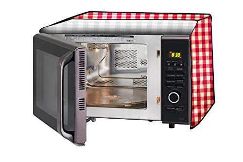 Stylista Microwave Oven Cover for IFB 17 L Solo 17PM-MEC2B, Printed