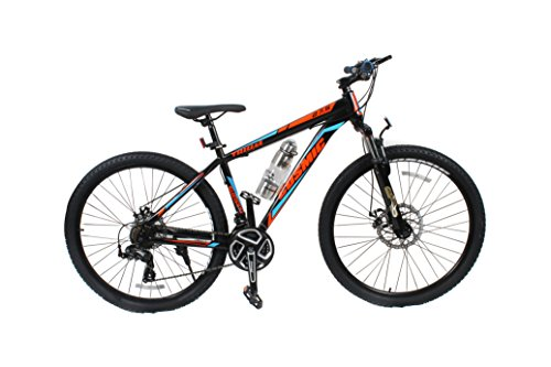 Cosmic Trium 27.5 Inch MTB Bicycle 21 Speed Edition - Black/Blue