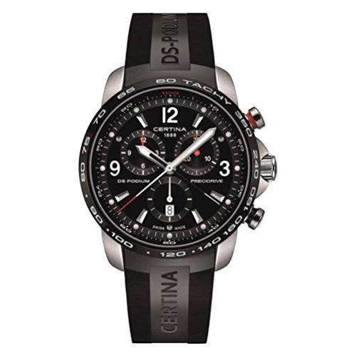 Certina DS Podium Big Size Chronograph Men's Watch C0016472705700