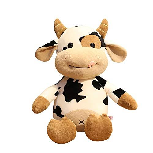 AMILIEe Animales de Peluche Lindos Juguetes de Peluche de Vaca muñecas de Peluche muñecas de Peluche Grandes muñecas de Peluche muñecas de Peluche niñas Regalos de Ternera Mascota