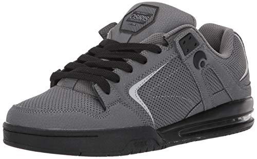 Osiris Zapatillas de skate Pxl para hombre, gris (Carbón/negro/carbón (Charcoal/black/charcoal)), 39.5 EU