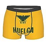 Jupsero Aztlan Huelga Bird Ropa Interior para Hombre Men 'S Boxer Briefs Hombre Open Fly Pouch S M L XL XXL