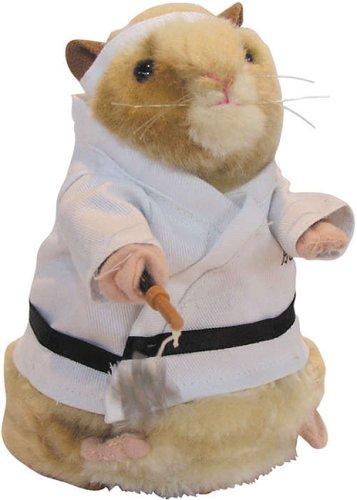 Gemmy Dancing Hamster - Kung Fu Hamster
