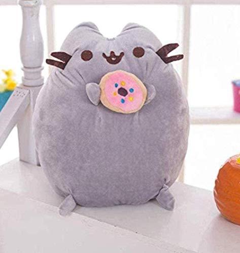 Nettes Tier-Weichkissen-EIS-Keks-Katzenplüschtier Gefüllte Puppe-Geburtstagsgeschenke für Kinder Kinderschlafzimmer 25Cm