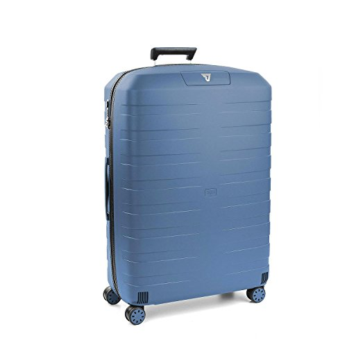 RONCATO Box 2.0 trolley large rigido 4 ruote tsa Blu navy