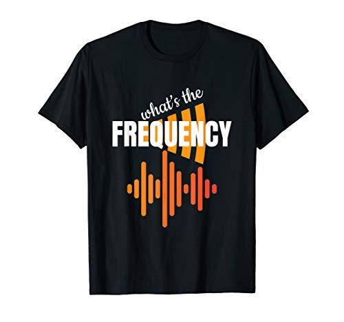 Was ist die Frequenz? Amateurfunk Geschenk T Shirt
