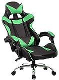 FACAIA Silla ergonómica para Oficina, Silla para Juegos, sillón para el hogar, Silla ergonómica para Ordenador, función giratoria, Silla para arrodillarse