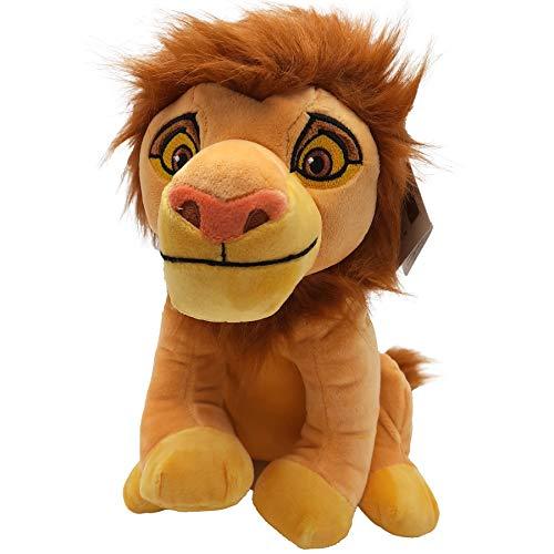 El Rey Leon (The Lion King) - Peluche Leon Simba Adulto 11'/28cm Calidad Super...